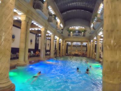 2018-2019年末年始一人旅 ブルノ、ウィーン、ザグレブ、ブダペスト 12.ゲッレールト温泉