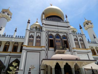 シンガポール家族旅行★3日目 リトルインディア・アラブストリートをぶらぶら歩く