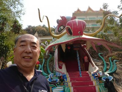 還暦記念タイ一人旅2019.3 5日目カンチャナブリの寺院巡り