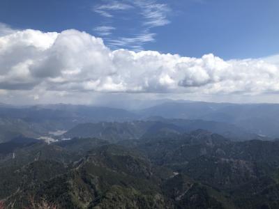 乳岩から三ツ瀬 明神山 登山