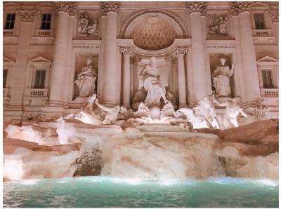 ものすごく暑かった!ローマでの3日間。(1日目)