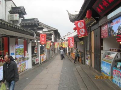 上海の南翔故鎮・小龍包街・2019年