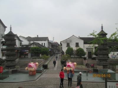 上海の南翔故鎮・双塔・2019年