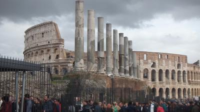 駆け足のイタリア旅行   ~ローマ観光 フィンエアーで帰国~