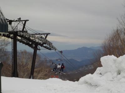 群馬へ! まずは玉原のペンションへ。たんばらスキーパークで今シーズン最後のスキー