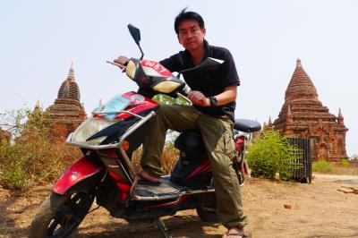 東南アジア2019 ③ eバイクで駆け抜けるバガン