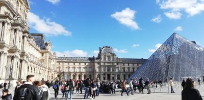世界一周~ビジネスクラスで11ケ国⑳~(ヨーロッパ編その7)ルーブル・オルセー美術館とミシュラン星付きランチ