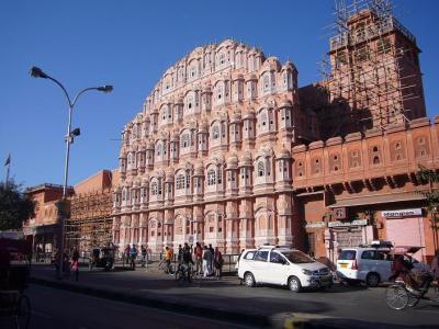 インド ゴールデントライアングル5日間の旅(2) ジャイプール