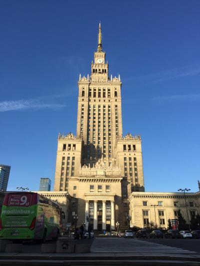 """ポーランド旅②ワルシャワ 想像以上に""""シンプル""""な町だった!&帰国ドタバタの巻"""