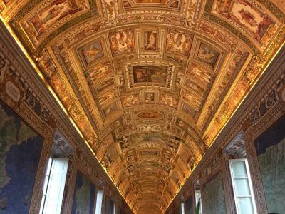 12泊13日ローマ、フィレンツェ、ミラノの旅 その1【ローマ: ヴァチカン美術館編】