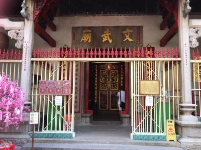香港:YUMCHAでランチ~文武廟~キャットストリート~3rdSpace~エレメンツからバス
