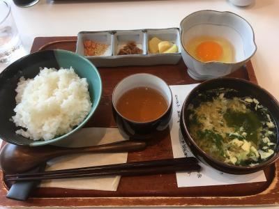 卵かけご飯を食べに大江の郷自然牧場に出かけてきました