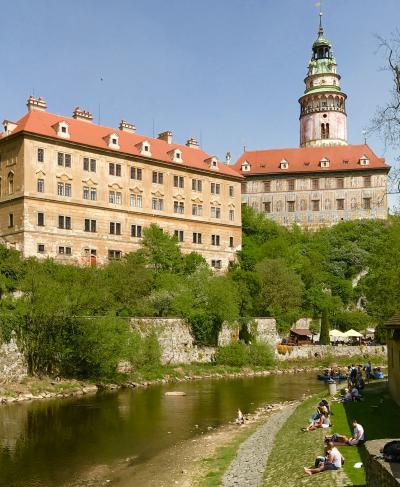 ☆春のプラハでモルダウを~♪.:*ハンガリー・スロバキア・チェコ周遊10日間 vol.36 聖ヴィート教会とお城のプラーシュチョヴィー橋♪