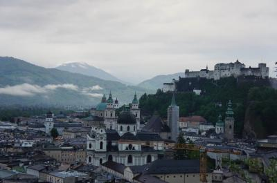 2019GWオーストリア ①ザルツブルグ泊と市内観光