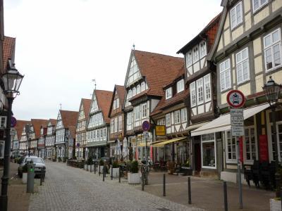 ドイツ木組みの家を訪ねて 町から町へ  ツェレ
