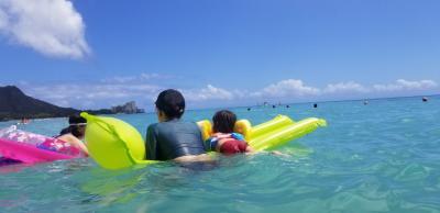 3世代ハワイ②シェラトンワイキキ~ゴルフ、オアフ島ドライブへ