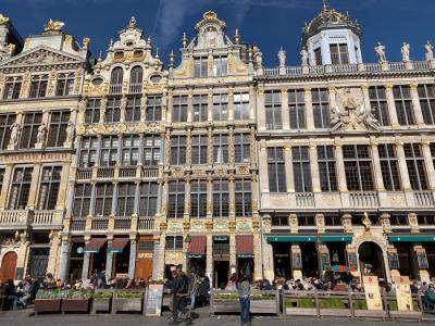 ブリュッセルとブルージュを歩く3日間