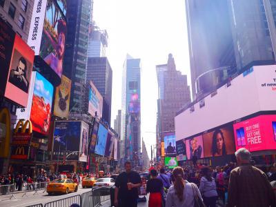 Second USA☆夢だったNew yorkへ!!part1(出発~韓国で乗り継ぎ~タイムズスクエア)