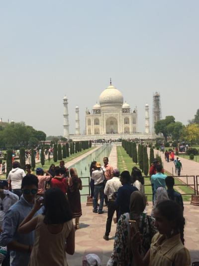 インド旅③アグラ GW中激暑の中ついにタージマハルへ!!