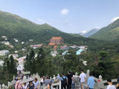 香港乗り継ぎ1日ランタオ島トレッキング