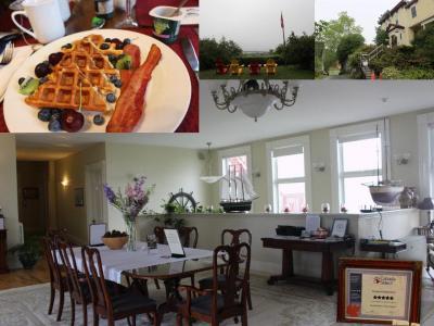 カナダ東部5州、ドライブ旅行2018 Day13-1(Homeport Historic B&Bで目覚めた朝)
