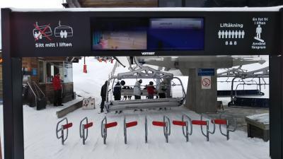 海外スキー  スウェーデン サレン・リンダヴァランでぼっちスキー!