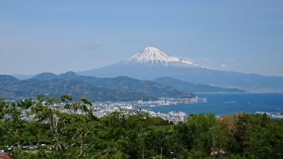 日本平夢テラスから富士山を眺めて