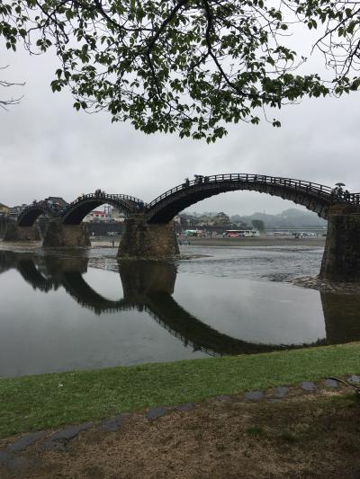 201904山口① ~アーチが続くよ錦帯橋~