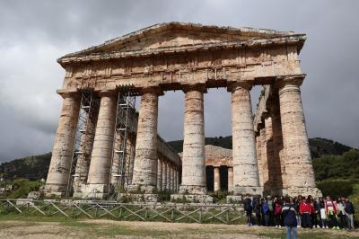 2019 文明の十字路シチリア島周遊の旅 10日間 (3) セジェスタ