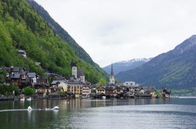 2019GWオーストリア ②ザルツブルグから日帰り・湖畔の街ハルシュタット&バードイシュルで温泉