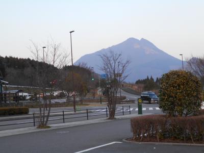 福岡から由布岳へ