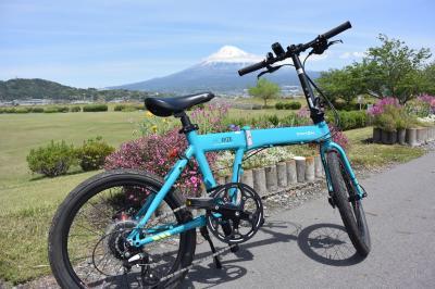 自転車でGO! 2019.04.28 潤井川から富士川まで走りました