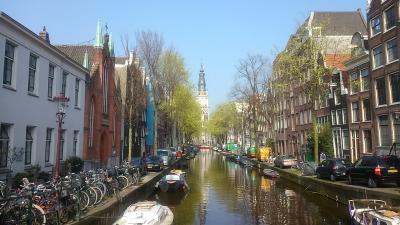 歩いてまわるアムステルダム