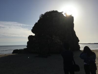 島根☆出雲大社、稲佐の浜、鬼の舌震