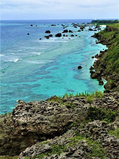 美ら海の絶景 コバルトブルーの宮古島1  東平安名崎~ イムギャーマリンガーデン