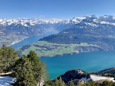 スイス イースター休暇旅行(シュヴィーツ・リギ -Rigi Hochflue-)