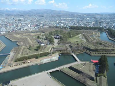 足まめ母娘の函館2人旅 ②函館市電と五稜郭方面