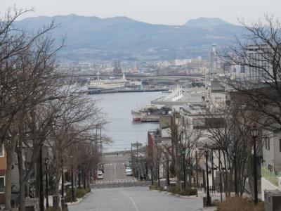足まめ母娘の函館2人旅 ③八幡坂と船魂神社とハセガワストア