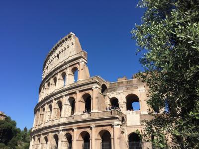 12泊13日 ローマ、フィレンツェ、ミラノの旅(^-^) その3【コロッセオ&フォロロマーノ編】