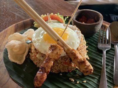 人気のバリ料理のレストラン「バリニーズ ホーム クッキング(Balinese home cooking)」