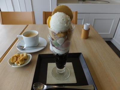 金沢◆和カフェ『不室屋カフェ香林坊大和店』&ひがし茶屋街◆ 2019/04/30