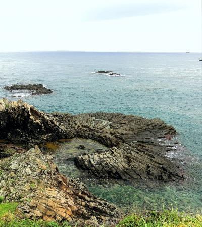 2018年 9月 韓国南部の温泉巡り一人旅 最高の炭酸泉!陽南海水温泉と穴場な柱状節理