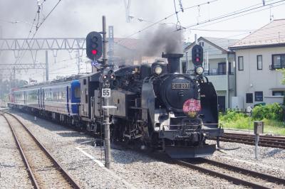 2018夏 青春18切符の旅 ② 東武鉄道 SL大樹