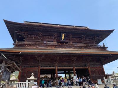 戸隠神社&善光寺 バス旅行2