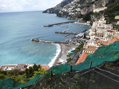 ANA特典マイルで行くシチリア旅行 ②サレルノを起点にアマルフィと絶品モッツァレラ直売所