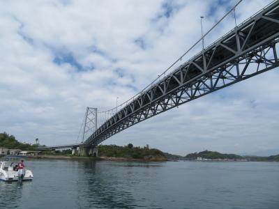 禿島!兜島!野牛島と維和島を結ぶ巨大吊橋!東大維橋!!スーパーイーグル号!熊本・天草 島巡り 2019年4月 3泊4日1人旅(個人旅行)44