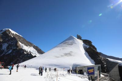 スイス6日目②ユングフラウ、アレッチ氷河とスフィンクス展望台