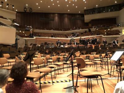 ウィーン・ベルリン音楽の旅        < その 3 > 第1日 フィルハーモニー