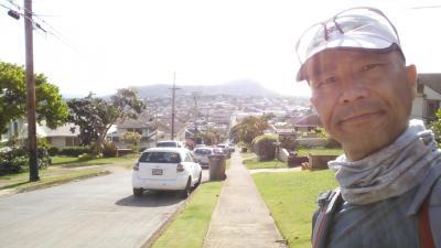 H29 お父ちゃん一人旅「ホノルルマラソンに出場しました」(5日目Vol.4 カイムキ散策)