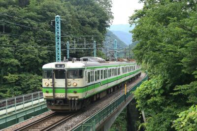 貴重な国鉄型電車を追い求め、北近畿→北陸縦断→上越へひたすら移動する鉄道の旅〜